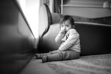 Free Toddler Right Hand In Mouth Royalty Free Stock Image - 109919676