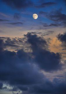 Free Moon Stock Photo - 109919730