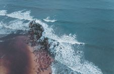 Free Aerial View Of Ocean Royalty Free Stock Photo - 109919815