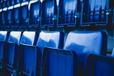 Free Stadium Chairs Royalty Free Stock Photography - 109920097