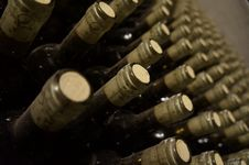 Free Corks In Bottles Royalty Free Stock Image - 109920116