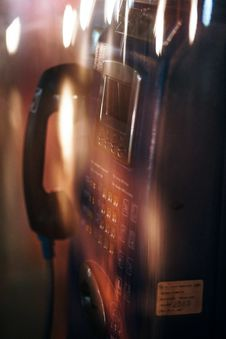 Free Payphone Stock Photo - 109920530
