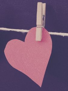 Free Photo Of Clipped Heart-shaped Red Paper Royalty Free Stock Image - 109920996