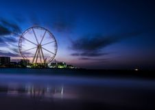 Free Photography Of Ferris Wheel Near Body Of Water Royalty Free Stock Photo - 109921205