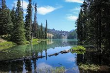 Free Landscape Photography Of Lake Surrounded By Trees Stock Images - 109921504