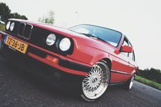 Free Red Sedan Royalty Free Stock Images - 109921519