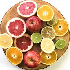 Free Citrus Fruits Slice Stock Image - 109921781