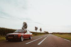 Free Red Sedan Royalty Free Stock Image - 109921846