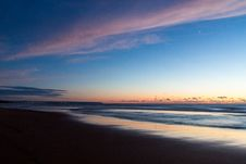 Free Time Lapse Photo Of Seashore During Golden Hour Stock Photography - 109922232