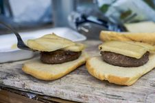 Free Bread Slice With Burger Royalty Free Stock Photos - 109922688
