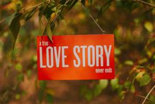 Free A True Love Story Never Ends Royalty Free Stock Images - 109922709