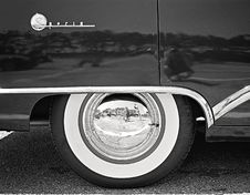 Free Black And White Car Wheel Stock Photography - 109922952