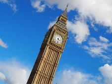 Free London Big Ben At 3:30 Royalty Free Stock Images - 109923179
