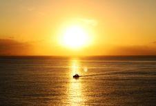 Free Ocean During Golden Hour Stock Photos - 109923253