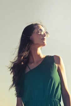 Free Photography Of A Woman Wearing Sunglasses Royalty Free Stock Photo - 109923365
