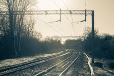 Free Railroad Stock Image - 109923831