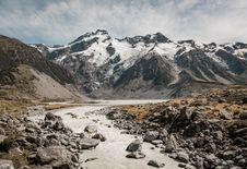 Free A Pathway Through Ice Like Mountain Royalty Free Stock Photos - 109924008