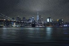 Free Photography Of City Lights During Night Time Royalty Free Stock Images - 109924029