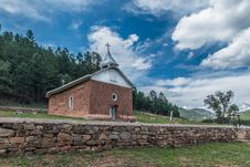 Free Church Under Blue Sky Royalty Free Stock Image - 109924066