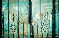Free White Metal Gate Stock Photo - 109924510