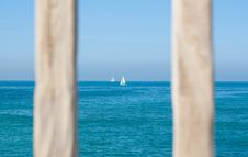 Free White Sailing Boat On Body Of Water Stock Images - 109925004