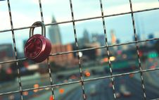 Free Key On Railings In Shallow Focus Lens Royalty Free Stock Photo - 109925215