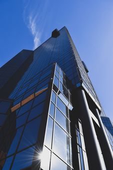 Free Low Angle Photography Of Glass Building Royalty Free Stock Photography - 109925987