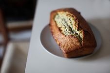 Free Close-Up Photography Of Banana Bread On Saucer Stock Photo - 109926130