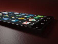 Free Black Android Smartphone Royalty Free Stock Images - 109926859