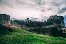 Free Gray Castle Under Cloudy Sky Stock Photos - 109926903