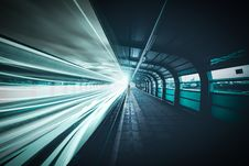 Free Time-lapse Photography Of Train In Subway Station Stock Photo - 109927010