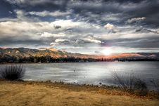 Free Landscape Photography Of Mountains Near Body Of Water Royalty Free Stock Photography - 109927187