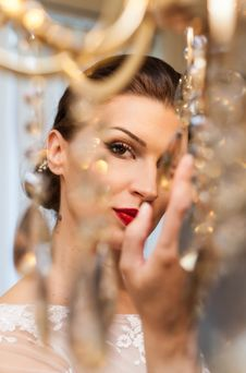 Free Focused Photography Of Woman With Red Lipstick Stock Image - 109927251