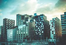 Free Photography Of Assorted-color High Rise Building Royalty Free Stock Image - 109927546