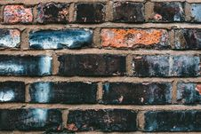 Free Black, Blue, And Orange Concrete Brick Stock Image - 109928381