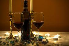 Free Alcohol, Bottle, Candlelight Stock Photo - 109928930