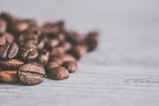 Free Coffee Beans Closeup Photography Stock Image - 109929051