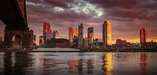 Free Panoramic Photography Of City Near Body Of Water Stock Photo - 109929220