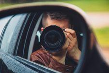 Free Man Taking Mirror Shot Stock Photography - 109929412