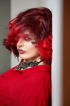 Free Hair, Red, Human Hair Color, Beauty Stock Photography - 109933282