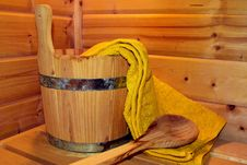 Free Yellow, Wood, Wood Stain, Sauna Stock Photography - 109933362