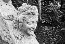 Free Black And White, Stone Carving, Sculpture, Monochrome Photography Royalty Free Stock Photo - 109933445