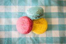 Free Close-Up Photography Of Three Macaroons Stock Photos - 109973333
