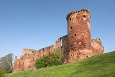 Free Bothwell Castle Royalty Free Stock Photos - 111188
