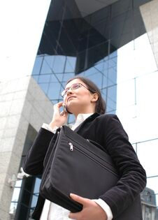 Free Business Phone Talk Stock Photography - 111582