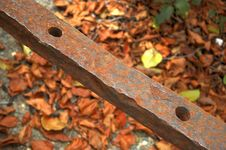 Free Iron Bar With Holes Stock Photo - 113680