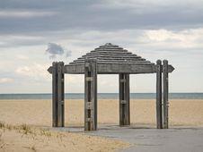 Free Beach Pavilion Royalty Free Stock Photos - 114188