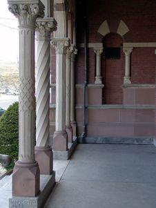 Free Town Hall Columns Stock Photos - 115303