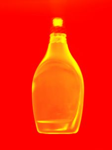 Free Golden Bottle Abstract Stock Photos - 118503