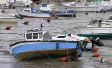 Free Fishing Boats Stock Images - 119004